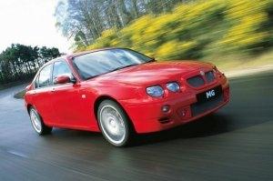 2001 MG ZT 190