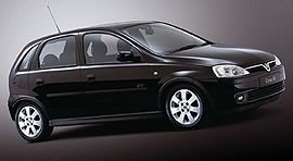 2001 Vauxhall Corsa Sport SRi