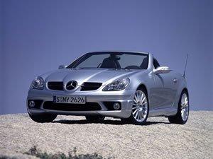 2004 Mercedes-Benz SLK 55 AMG