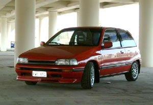 1987 Daihatsu Charade GTti